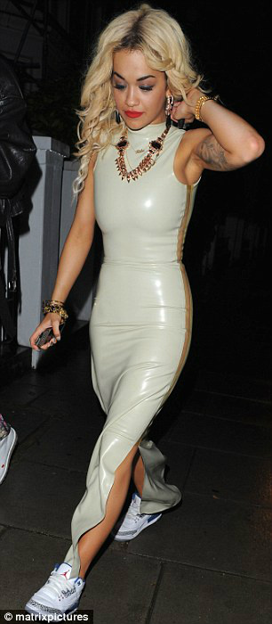 Rita Ora Representing Blow Presents BLOW