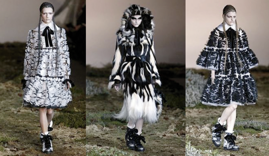 Alexander McQueen AW14 @ Paris Fashion Week