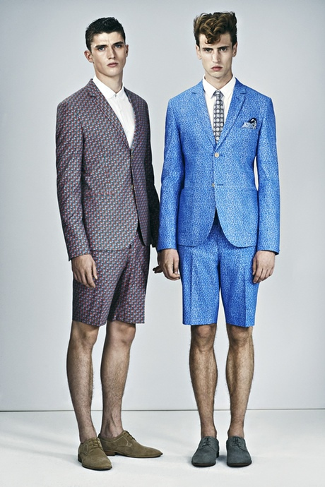 Spring Menswear: Patterned Short Suits