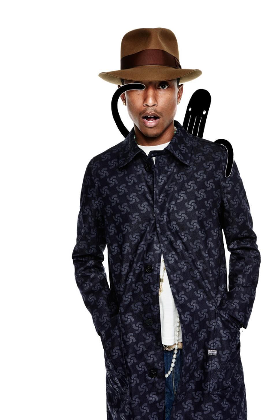 pharrell williams� bionic yarn team up with gstar raw