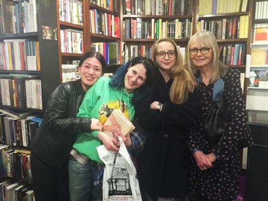 Daisy and Jan de Villeneuve, Valerie Phillips and Yumoko